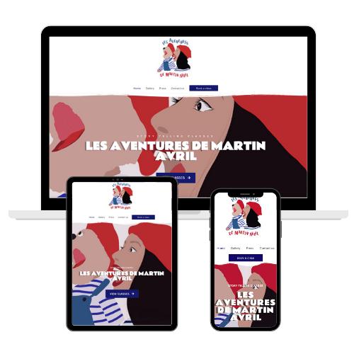 Création de site internet Londres